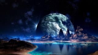 космос, планета, катастрофа, крушение обои на рабочий стол