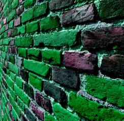 color, bricks, wall