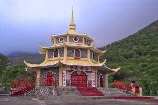 mountains, pagoda, буддизм