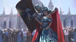 Warrior Knight, Anime, art