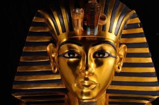 Egypt, посмертная, maska, Тутанхамон