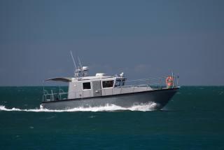 black sea, June, the boat, on the go