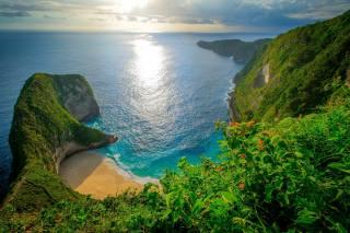 індонезія, Kelingking Beach, Нуса-Пенида, море