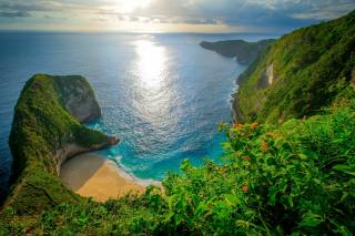 Indonesia, Kelingking Beach, Нуса-Пенида, sea