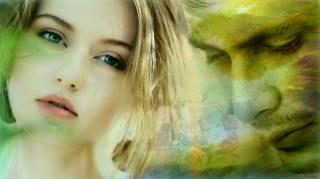 holka, chlap, Láska, smutek, vzpomínky, jaro