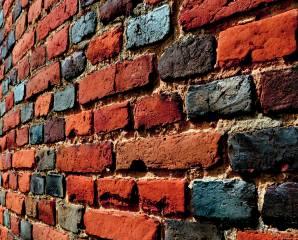 zeď, cihly, zednické práce