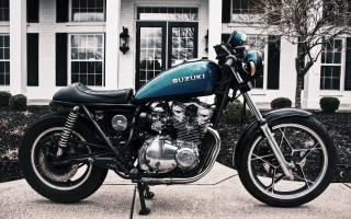 motorcycle, Suzuki, blue