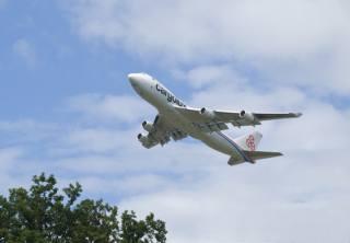 самолет, небо, взлёт
