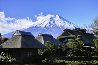 Fuji, Japan, the volcano, nature