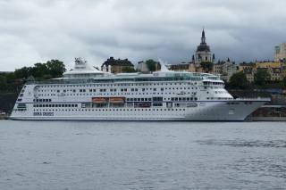stockholm, Švédsko, parníku, Birka, Cruises, město