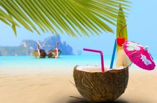 tropics, tropical, cocktail, coconut, кокосовый, walnut, delicious