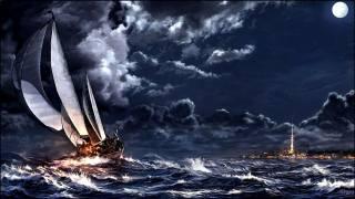 фэнтези обои, кораблі, картини, міста, море