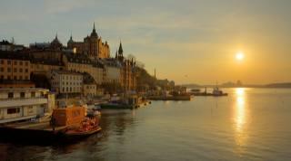 Švédsko, stockholm, nábřeží