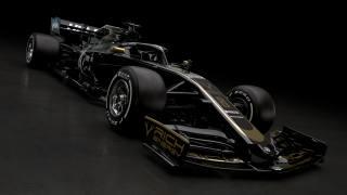 black, Racing, Car, Haas, VF-19