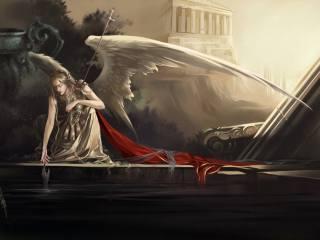 арт, ангел