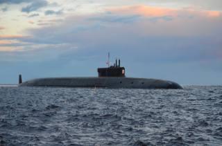 submarine, sea, evening