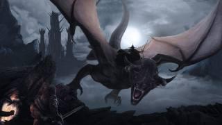 володар кілець, дракон