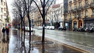 Paris, France, street, home