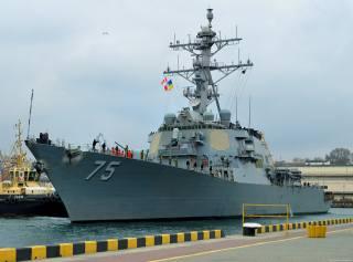 Дональд Кук, destroyer, Odessa
