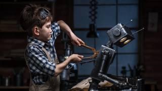 діти, хлопчик, Робот для ремонта