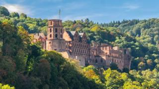 замок, фортеця, руїни, Heidelberg castle, Heidelberg