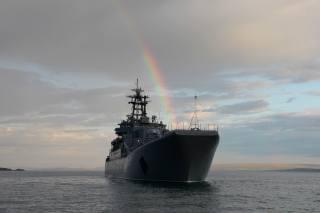 десантный, ship, rainbow