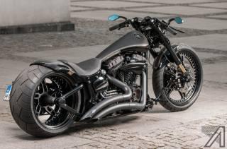 HARLEY-DAVIDSON, Softail, motocykl, aerografia