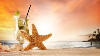 starfish, Mojito, drink, пескок