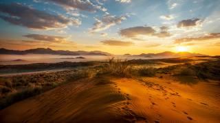 природа, краєвид, Африка, Намібія, пустеля, захід