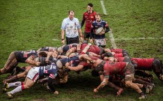 Men, sports, Dirt, rugby