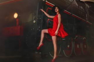 Alexander Drobkov, girl, the engine