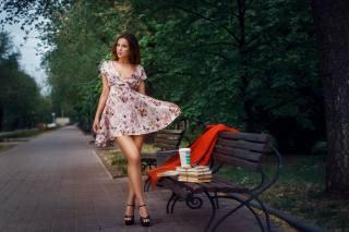 дівчина, модель, погляд, Alexander Drobkov
