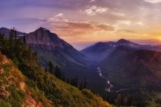 glacier, National Park, nature