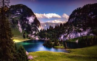 Švýcarsko, Švýcarsko, příroda, hory, jezero