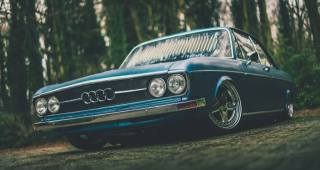 mike crawat, audi, retro, tuning