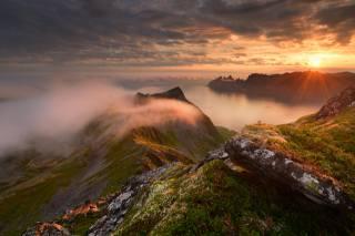 příroda, krajina, hory