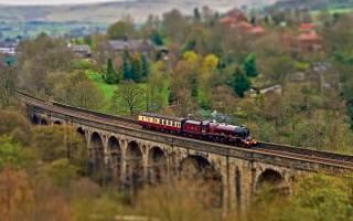 railway, train