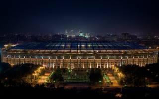 the stadium, Лужники, the city, Moscow, Russia