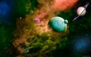планеты, космос, звёзды