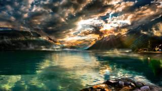 krajina, příroda, jezero