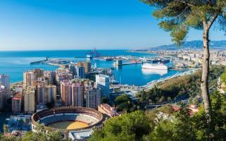 port, pohledy na město, spanish cities, Španělsko, Costa del Sol