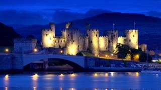 Anglie, Конви, hrad, sever, Wales