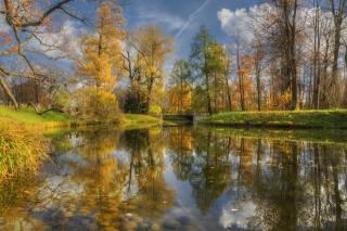 St. Petersburg, г Пушкин, autumn