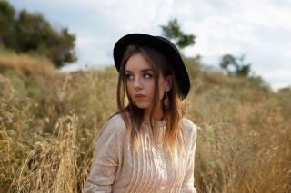 дівчина, літо, на природі, трава