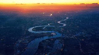 London, panorama, Thames