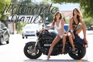 girls, motorcycle