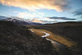 nature, landscape, mountains, river