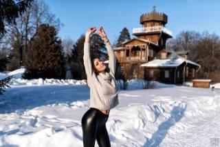 holka, v zimě, наташа синкевич, fotograf, сергей томашев