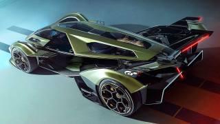 Car, car, Lamborghini V12 Vision Gran Turismo