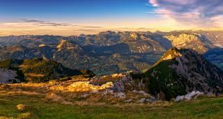 Австрия Горы Пейзаж, Luppitsch Styria, альпы, природа